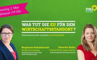 Webinar zum Europatag mit Henrike Hahn