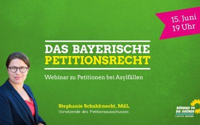 Webinar: Petitionen bei Asylfällen
