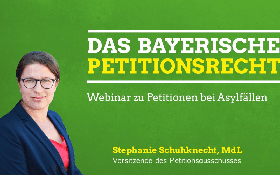 Webinar: Wie stellt man eine Petition bei Asylfällen?