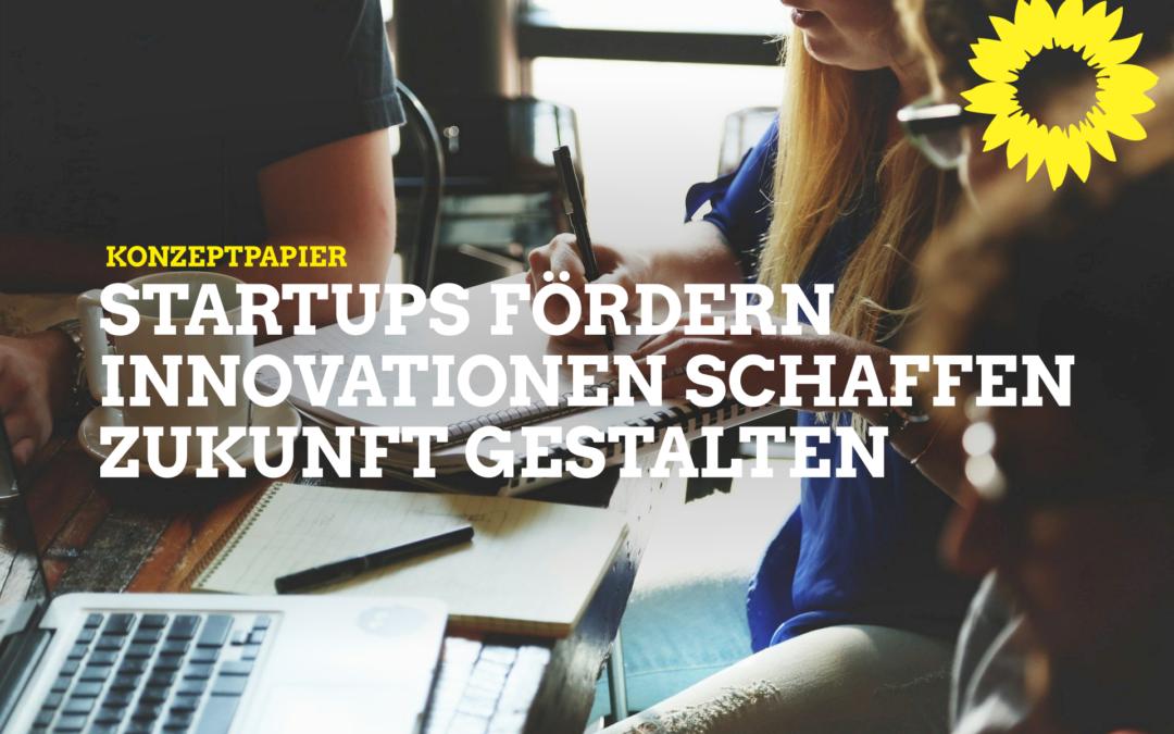 Konzeptpapier: Unsere Idee für Startups