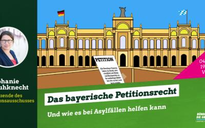 Webinar Petionen in Asylfällen