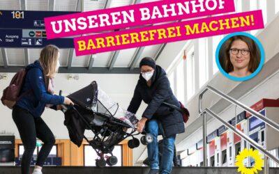 Der Bahnhof Augsburg muss barrierefrei werden!
